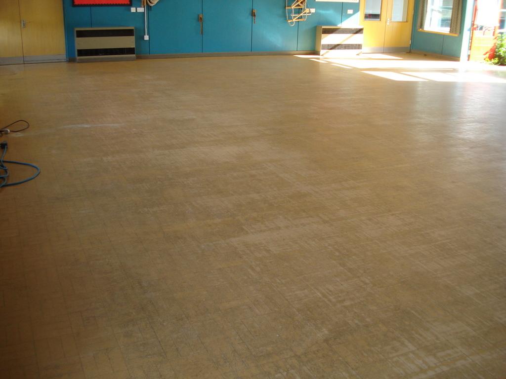 Composition Block School Hall Floor Sanding And Sealing By Floorcare  Services. Composition Block Flooring Contractors. Composition Block School  Sports Hall ...