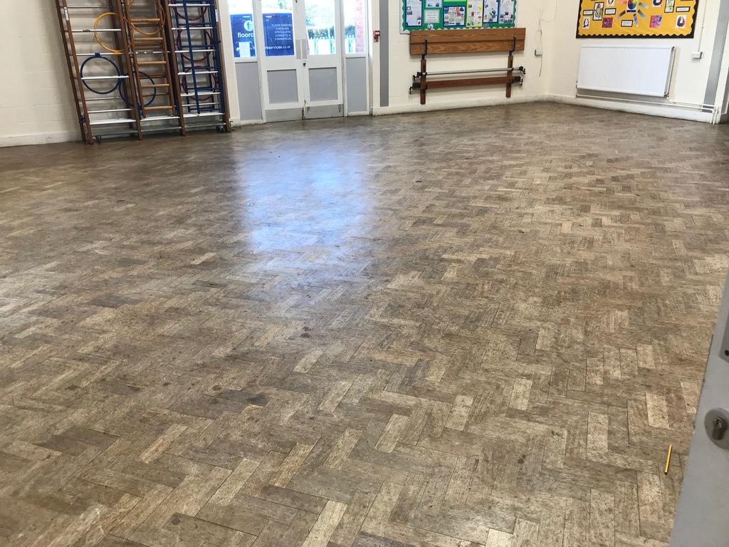 School Hall Floor